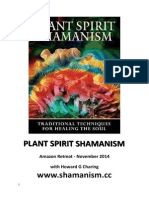 Plant Spirit Shamanism Amazon  Retreat 2014