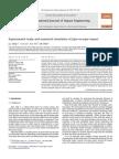 冲击工程管道甩动Experimental study and numerical simulation of pipe-on-pipe impact