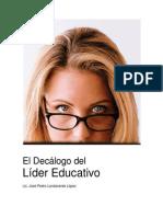 El Decálogo del líder educativo