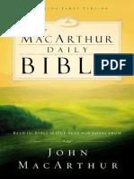 Mac Arthur Daily Bible