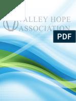 2013 Valley Hope Association Addiction Treatment Services