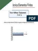 MEC10-Aula02 - Tecnica de Elementos Finitos - Exemplo