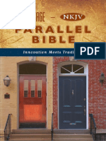 The Message-NKJV Parallel Bible