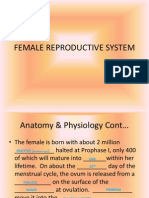 Female Reproductive System Revised Spring 12