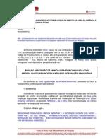 BUSCA E APREENSÃO DE MENOR INFRATOR COM MEDIDA DE INTERNAÇÃO