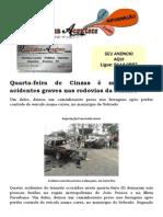 Quarta-feira de Cinzas é marcada por acidentes graves nas rodovias da Paraíba