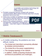 Mobile Databases