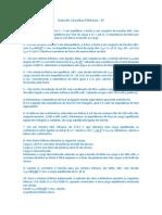 Lista de Exercícios Circuitos Elétricos - IV