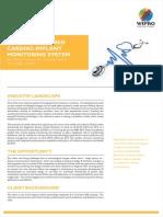 Wipro Value Engineered Cardiac Implant Monitoring System