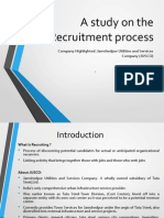HR Presentation on Recruitment