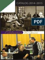 Dallas Theological Seminary 2014-2015 Catalog