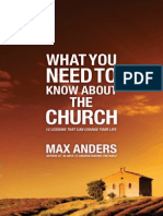 What You Need to Know About The Church