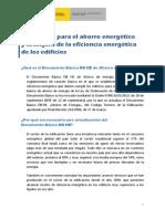 Documento Divulgativo DBHE 2013