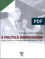 Afonso Arinos de Melo Franco e o Colapso Da Democracia Em 1964