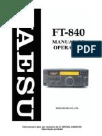 FT 840 Portugues