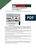 03-03-2014 Sexenio Puebla - Firman acuerdo para programa de infraestructura indígena.pdf