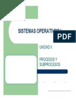 02 Sistemas Operativos - Administracion de Procesos