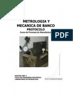 b Metrologia b y Mecanica de Banco ..