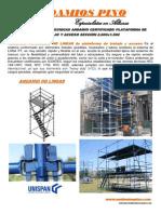 Especificaciones Tecnicas Andamio Pino 1