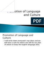 grade 10-2 chap 6 promoting language and cultures