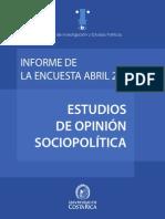 CIEP Encuesta abril 2013