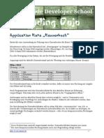 Application Kata Kassenbuch
