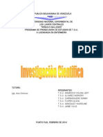 Yulis Investigacion Cientifica