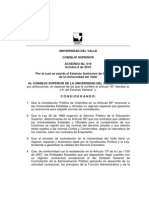 Estatuto de Contratacion. Acuero 016-2010