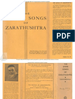Taraporewala Divine Songs of Zarathushtra