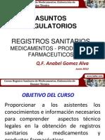 Exposición Registros Sanitario