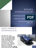 Dinamica Autovehiculelor prezentare