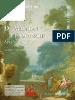 Exposition De Watteau à Fragonard, les fête galantes - Musée Jacquemart-André - dossier de presse