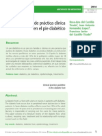 Guía de práctica clínica  en el pie diabético