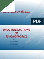 Psychotropic Drug Interactions