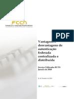 Autenticacao Federada vs Distribuida