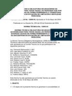 NORMA TÉCNICA OBLIGATORIA NICARAGÜENSE DE ACCESIBILIDAD
