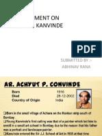 Achut p. Kanvinde ABHINAV
