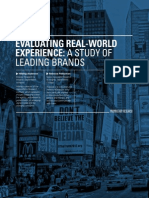 Evaluating Real-World Experience