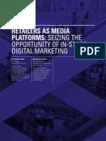 Retailers as Media Platforms