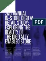 SapientNitro 2nd Annual In-store Digital Retail Study