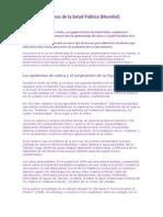 Pioneros Salud Publica (Mundial)