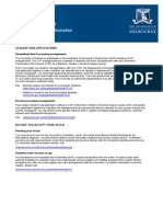 2013 International Student Offer Acceptance Information