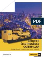 CAT Groupes Electrogenes F