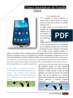 Presentan eSmartphone de Pantalla Curva