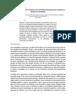 EL PASO DEL PRECONCEPTO AL CONCEPTO DE LA MATERIA DE BIOLOGÍA EN LOS ALUMNOS DE PRIMERO DE SECUNDARIA