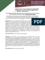 TESTE DE TETRAZÓLIO PARA AVALIAÇÃODA QUALIDADE DE SEMENTES DE AMARELÃO (APULEIA MORALIS SPRUCE EX. BENTH. – FABACEAE)