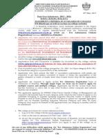 F. Y. Admission Notice-New