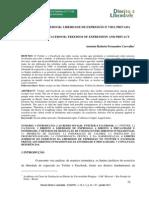 TWITTER E FACEBOOK - LIBERDADE DE EXPRESSÃO E VIDA PRIVADA