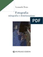 """Leonardo Terzo, """"Fotografia"""
