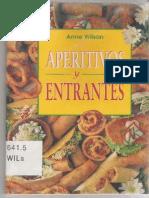 Aperitivos y Entrantes - Anne Wilson